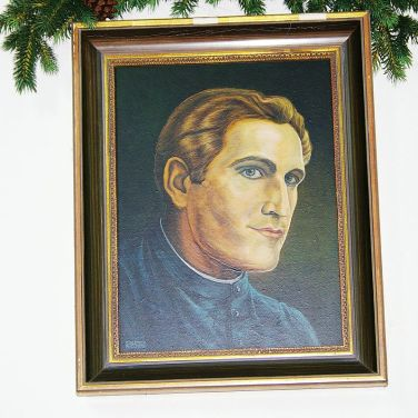 Silent Night Chapel picture of Joseph Mohr. Author: Werner100359 Creative Commons