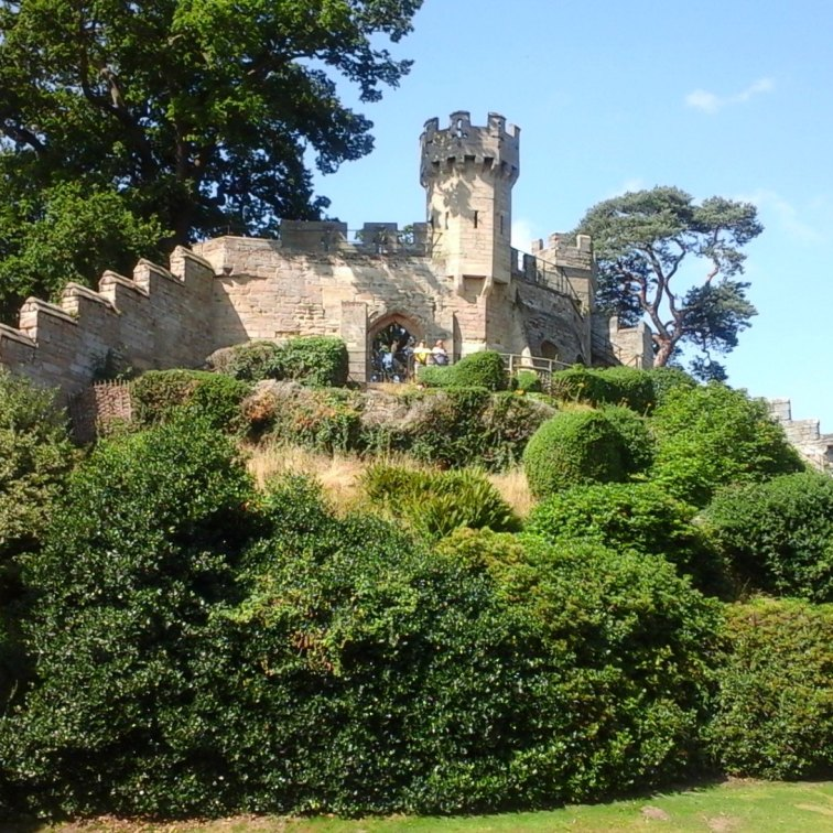 The motte and bailey castle built by William the Conqueror. The original keep was repalced in the 17th century, and is the one that can be seen today.