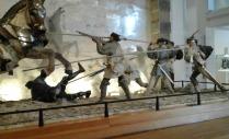 Combat scene