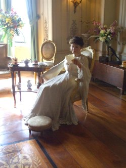 Frances 'Daisy' Countess of Warwick in the ladies'boudoir