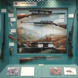 Weapons used for deer hunting