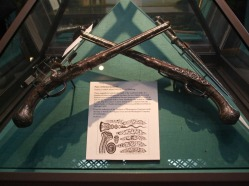 Pair of Flintlock pistols 1695