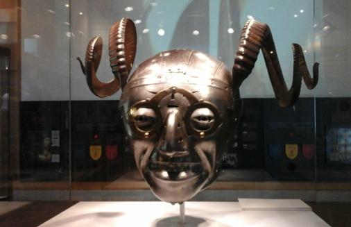 Henry's horned helmet