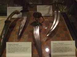 Indian daggers 17th-18th century.