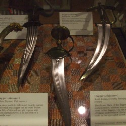Indian daggers 17th-18th century.