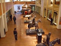 View of oriental warriors from Floor 5