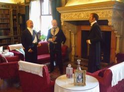 Gentlemen in the Library