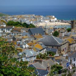 St Ives old city with harbour. June 2010. Author: Franzfoto Creative Commons
