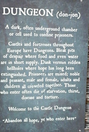 Information about the dungeon