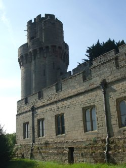 Caesar's Tower, at the north-east corner of the curtain wall.