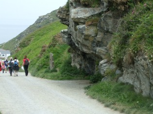 Path to Tintagel