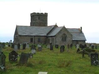 St Materiana's Church, Tintagel. From geog.org.uk Aythor Steve Wheeler. Creative Commons