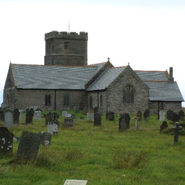 St Materiana's Church, Tintagel. From geog.org.uk Aythor Steve Wheeler. Creative Commons