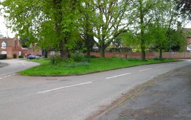 Collingham Village Green - former site for the May Fair
