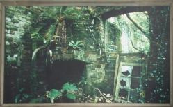 Head gardener's office, derelict in 1991