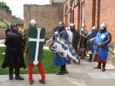 Knights gathering before battle 1