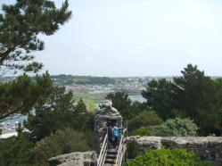 Lookout tower with views of Marazion