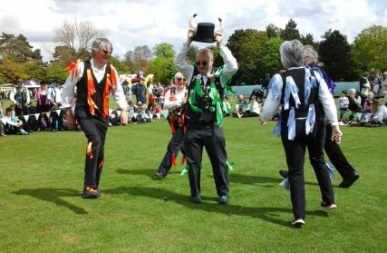 Morris dancers 6