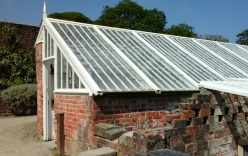 One of many glasshouses at Heligan