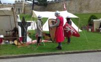 Stalls 1 English knights