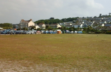 The car park at Marazion