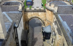 Looking down on the East Gate