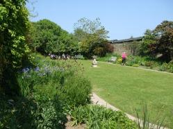 The aptly named 'Sundial Garden'.