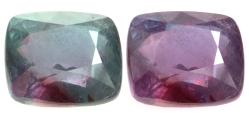 Alexandrite Step Cushion 26.75 cts Author: User: at en Wikipedia. Creative Commons