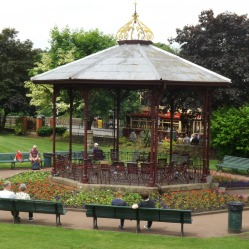 Bandstand in the Town Park