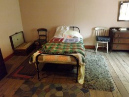 Bedroom for two wartime land girls