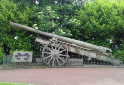 Big gun in the Town Park