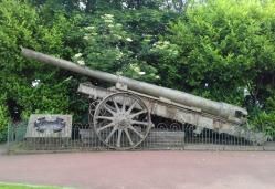 Big gun in the Town Park