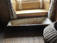 Bread trough (Kneading trough} in the stronghouse