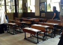 Classroom in village school