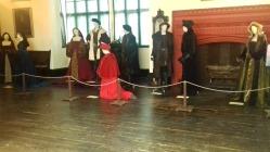 Henry VIII, Anne Boleyn with Thomas Wolsey kneeling