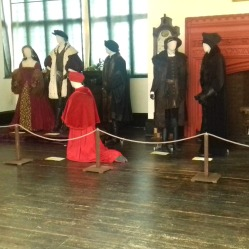 Henry VIII, Anne Boleyn with Thomas Wolsey kneeling