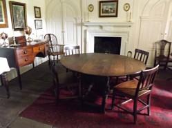 Dining room at Pockerley Hall