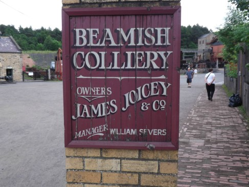 Entrance to Beamish Colliery