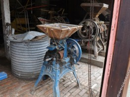 Farm machinery at Home Farmm