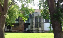 Gainsborough Old Hall from the road
