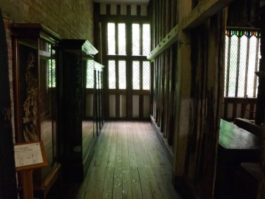 The Ghost Corridor, supposedly haunted by the Grey Lady.