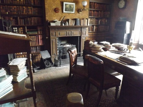 Inside the solicitor's house