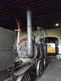 Inside the Waggonway Engine Shed
