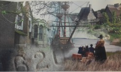 Gainsborough has links with the Pilgrim Fathers who sailed to America in 1620. They were helped by the lord of the manor at the time to get away.