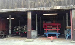Machinery in the barn
