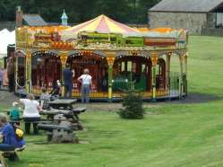 Merry-go-round at the fair