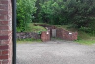 Mine shaft entrance