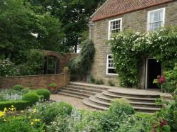 Pockerley Old Hall garden