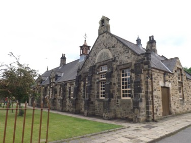 Sideview of Village School