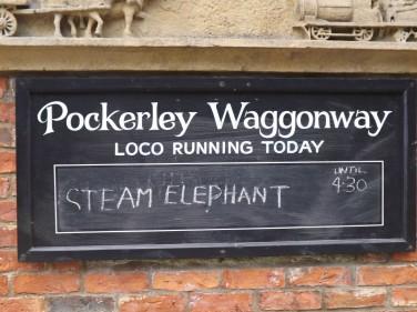 Sign at Pockerley waggonway